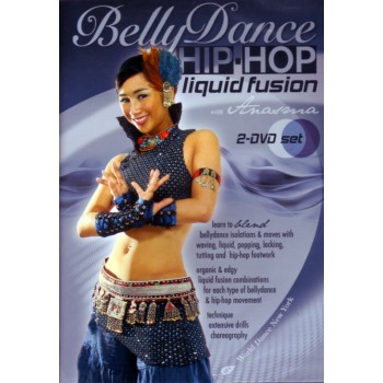 DVD Hip-Hop Liquid Fusion with Anasma