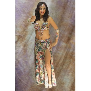 Costume Charming Flower,multi couleurs